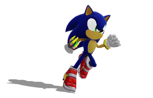 Sonic The Hedgehog V3 WIP Update: Soap Shoes! by BluexBlur