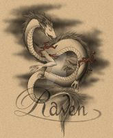 Dragon Tattoo Design V2 by Aussie-Raven