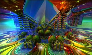 Fractal  Worlds  Forever .... by DorianoArt