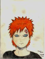 Gaara-colour by Black-Laru