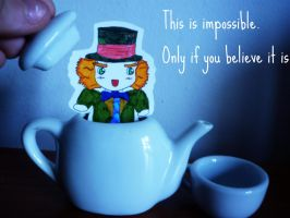 Mad Hatter, Want some tea? by laura22elle