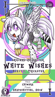 .:White Wishes - The Playful Trickster:. by MagicaITrevor