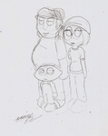 Chris, Meg and Stewie by GalaxystarX94