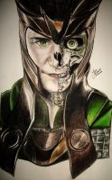 KNEEL TO YOU ZOMBIE KING LOKI by jessribeiro