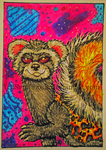 ACEO- Marbled Polecat by Septimosis