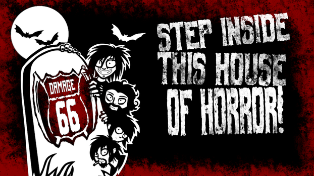 This House Of Horror - Youtube Banner by Scott-Nothing