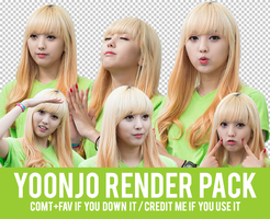Yoonjo Render Pack by Know-chan