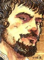Oliver Reed as Athos ~ The Three Musketeers by Jerantino