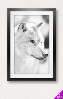 Photo Frame Mockup by thislooksgreat