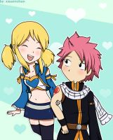 Come on, Natsu!! by xxSamChan