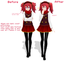 MMD - Did You Know - Before and After 2 by xinshin