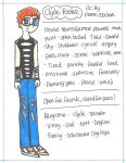 .:Clyde (1991) Reference Sheet:. by PrennCooder