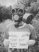 Make Art, Not War. by saniday