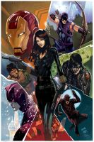 Black widow past present and future by Peter-v-Nguyen