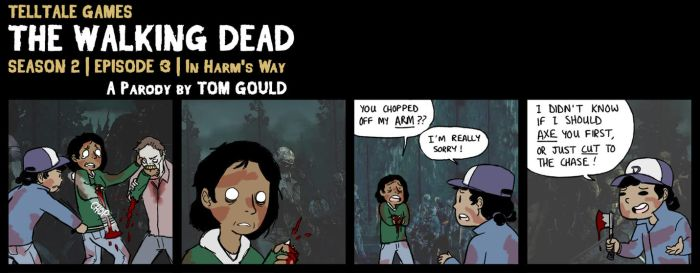 TWD S2E3 | Axe Questions Later (SPOILERS) by TheGouldenWay