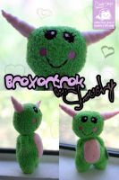 Broxortrok the Cuddle Monster Slouchy by cleody
