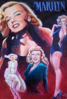 Marilyn Monroe by wayner8088