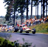 Graham Hill (Germany 1969) by F1-history