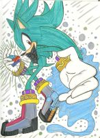 Sage the power whit in by SONICJENNY