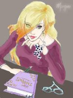 Me drawing by Alizarinna