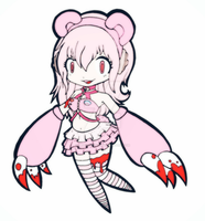 Super Sonico Gloomy Bear Version by Meggii-Manga