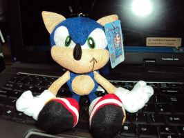 Sonic Plush No.8 by DazzyDrawingN2