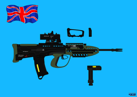 Concept Rifle British Army 2025 by Luckymarine577