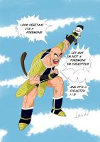 NAPPA AND POKEMON color by ivan1426