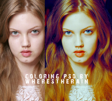 Coloring PSD 7 by wherestherain