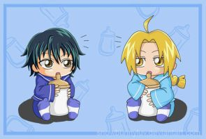 PoT x FMA-Milk is good for you by snowbunnyluv