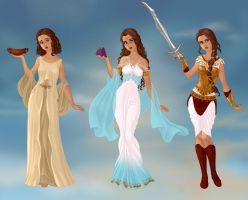 One Girl, Three Lives by M-Mannering
