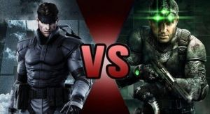 Solid Snake vs Sam Fisher by FEVG620