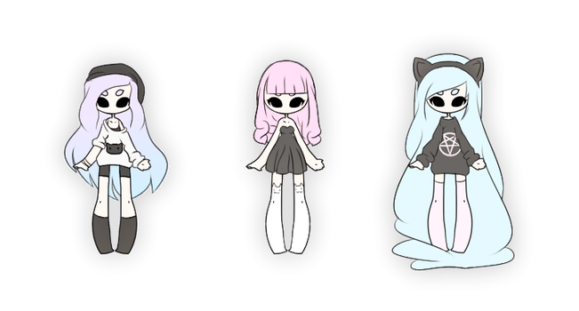 .:: Adoptables - Cat Lovers ::. {CLOSED} by Lilitihum