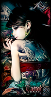 Asian Tattoo by LukasTw