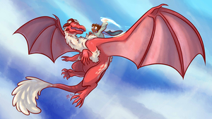 Dragon Omens: Day Out Flying by aliceapproved