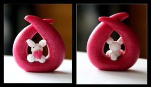 Bunny Sculpture by Shiritsu