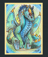 ACEO-Having red eyes by SunStateGalleries