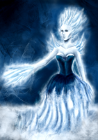 40. Snow Queen by Eyeless1703