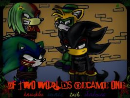 If Sonics World was Different by GreenBlood12354