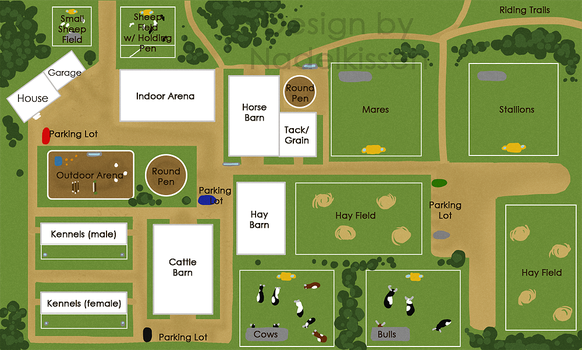 Everlasting Stables Map by EverlastingStables
