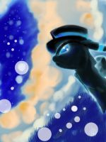 Umbreon Bubbles by OmniEscence