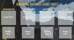 Breeding Passages Score Sheet by Zroya21