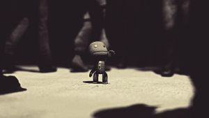 Alone Sackboy by DemIIsaK