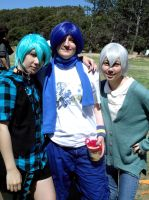 Mikuo, Kaito and Shion by ShadowYazoo