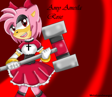 Amy Ameila Rose is back by MetalCarebearGirl