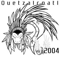 Quetzalcoatl - Uncolored by spatialchaos