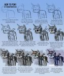 How to draw a  pony. by turbopower1000