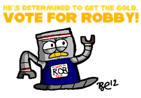 Vote for Robby in WIFL! by BuddyComics