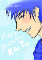 Happy Birthday KAITO! by Fulminixa