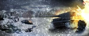 World of tanks fan art by Necrondesign
